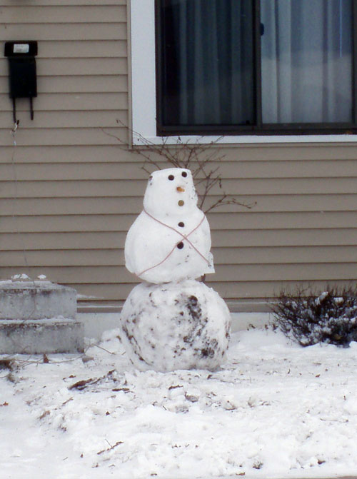 first-snowman-of-the-season